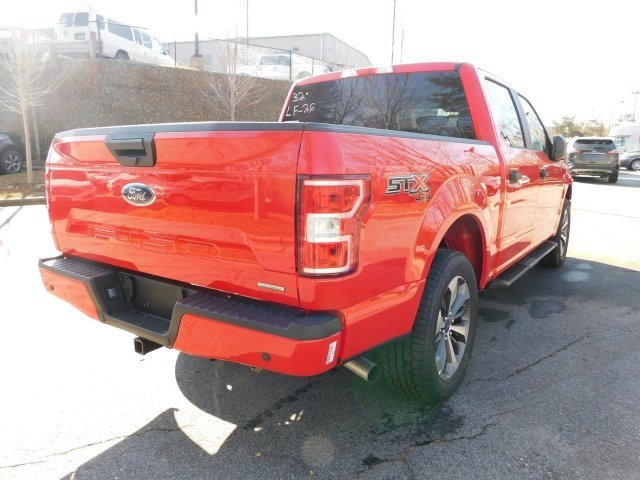 2019 Race Red Ford F-150 XL EcoBoost 2.7L V6 GTDi DOHC 24V Twin Turbocharged Engine Truck 4 Door