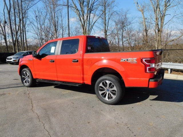 2019 Race Red Ford F-150 XL EcoBoost 2.7L V6 GTDi DOHC 24V Twin Turbocharged Engine 4 Door Automatic