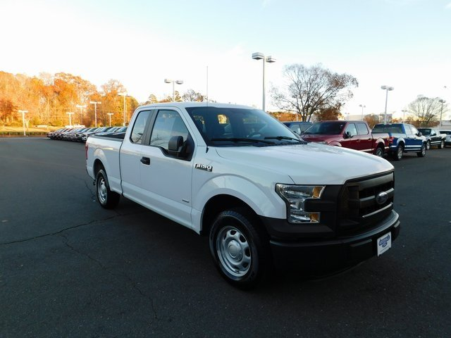 2016 Oxford White Ford F-150 XL RWD 2.7L V6 EcoBoost Engine Truck