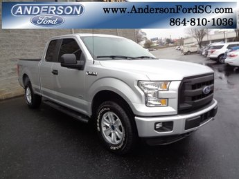 2016 Lithium Gray Ford F-150 XL Automatic 4 Door 4X4