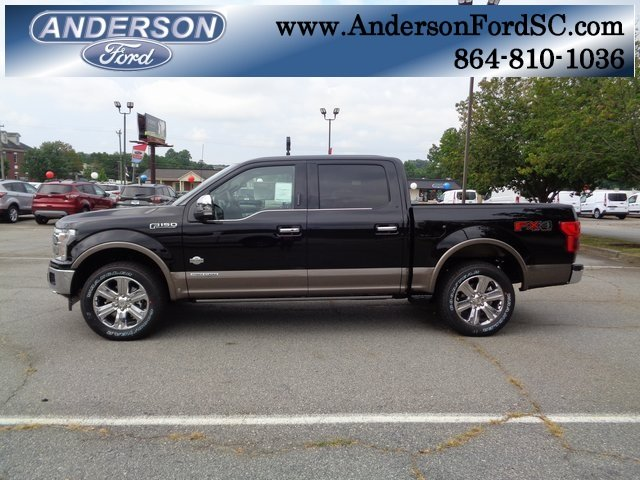 2018 Shadow Black Ford F-150 King Ranch Truck 4X4 Automatic 3.0L Diesel Turbocharged Engine