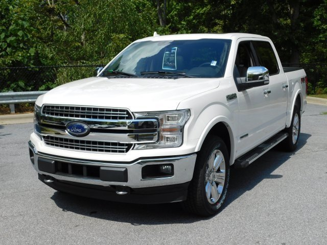 2018 White Metallic Ford F-150 Lariat 4 Door 4X4 Truck Automatic