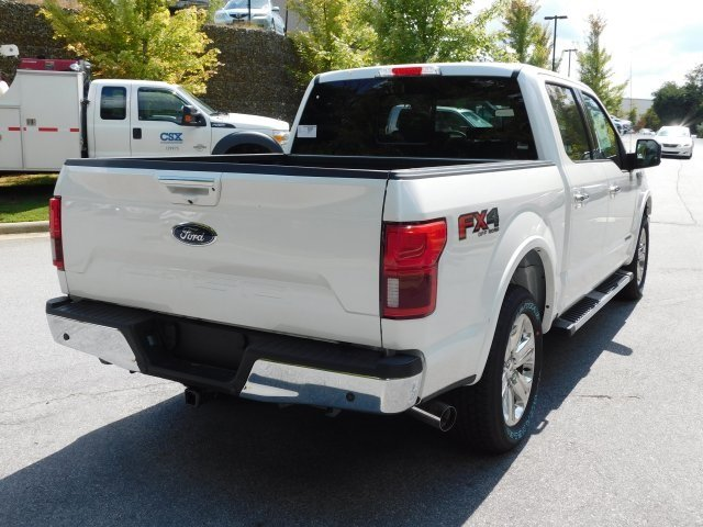 2018 White Metallic Ford F-150 Lariat Automatic 4X4 Truck 4 Door 3.0L Diesel Turbocharged Engine