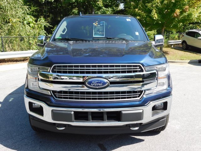 2018 Blue Ford F-150 Lariat Automatic 4 Door Truck 3.0L Diesel Turbocharged Engine 4X4