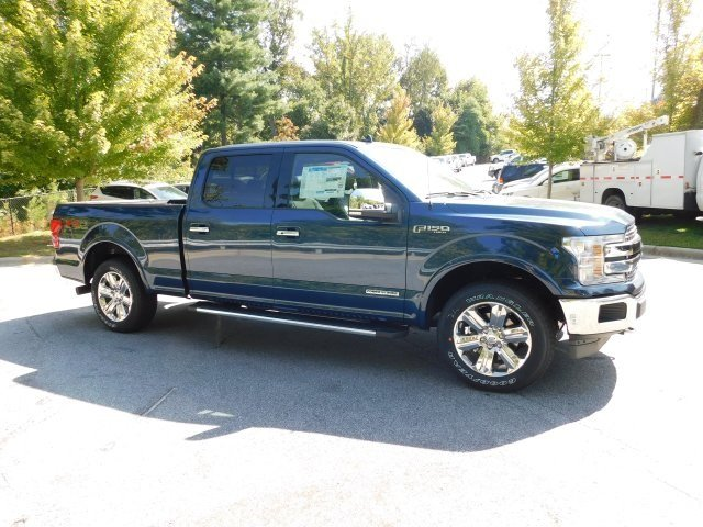 2018 Ford F-150 Lariat 3.0L Diesel Turbocharged Engine 4X4 4 Door Automatic