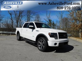 2013 Oxford White Ford F-150 FX4 EcoBoost 3.5L V6 GTDi DOHC 24V Twin Turbocharged Engine 4 Door Automatic