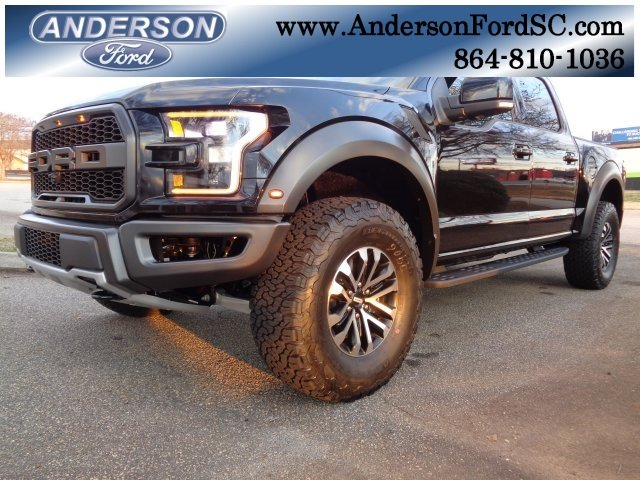 2019 Agate Black Metallic Ford F-150 Raptor Truck 4 Door Automatic