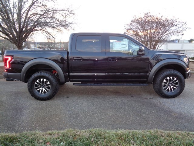 2019 Agate Black Metallic Ford F-150 Raptor Truck 4 Door Automatic 4X4 EcoBoost 3.5L V6 GTDi DOHC 24V Twin Turbocharged Engine