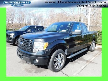 2014 Tuxedo Black Metallic Ford F-150 STX 4X4 Automatic 5.0L V8 FFV Engine