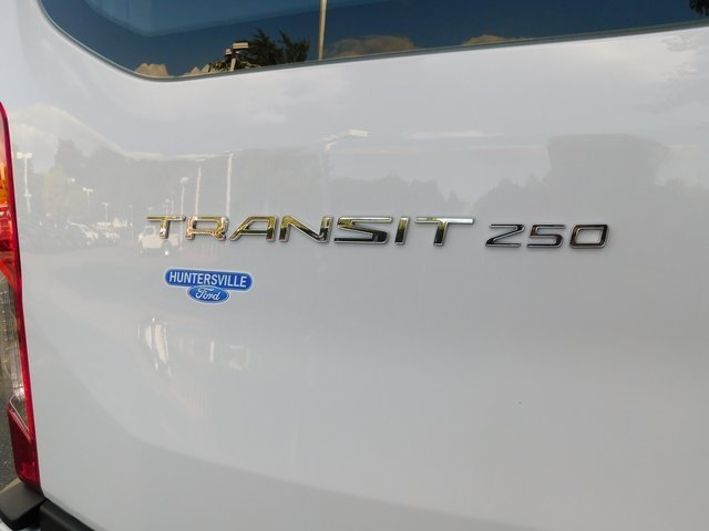 2019 Oxford White Ford Transit-250 Base 3 Door 3.7L V6 Ti-VCT 24V Engine Van Automatic