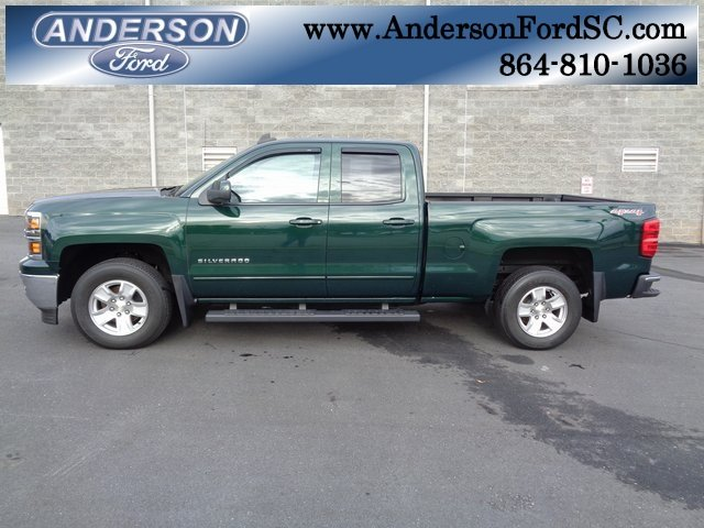 2015 Rainforest Green Metallic Chevy Silverado 1500 LT Automatic Truck 4X4 EcoTec3 4.3L V6 Engine 4 Door