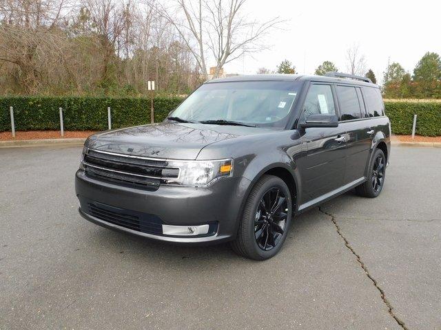 2019 Magnetic Ford Flex SEL Automatic SUV 3.5L V6 Ti-VCT Engine