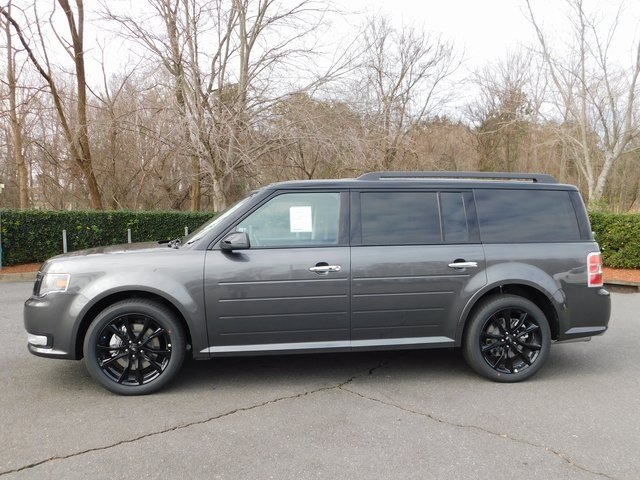 2019 Magnetic Ford Flex SEL Automatic 3.5L V6 Ti-VCT Engine SUV FWD 4 Door
