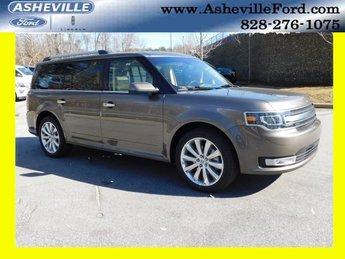 2019 Stone Gray Metallic Ford Flex Limited SUV Automatic FWD