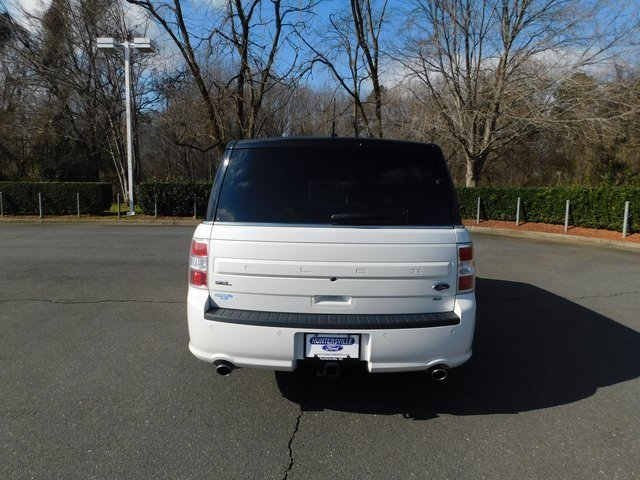 2015 White Platinum Metallic Tri-Coat Ford Flex SEL Automatic AWD 4 Door SUV