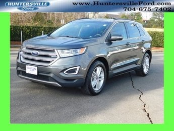 2016 Shadow Black Ford Edge SEL Automatic SUV FWD EcoBoost 2.0L I4 GTDi DOHC Turbocharged VCT Engine 4 Door