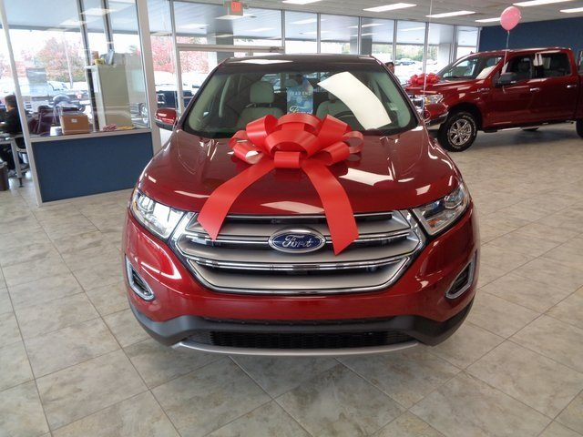 2018 Ford Edge Titanium 3.5L V6 Ti-VCT Engine FWD 4 Door Automatic SUV