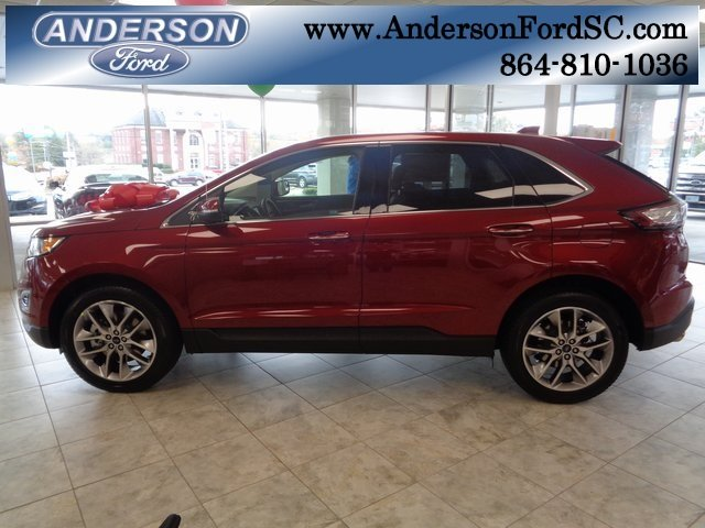2018 Ford Edge Titanium SUV FWD 3.5L V6 Ti-VCT Engine 4 Door