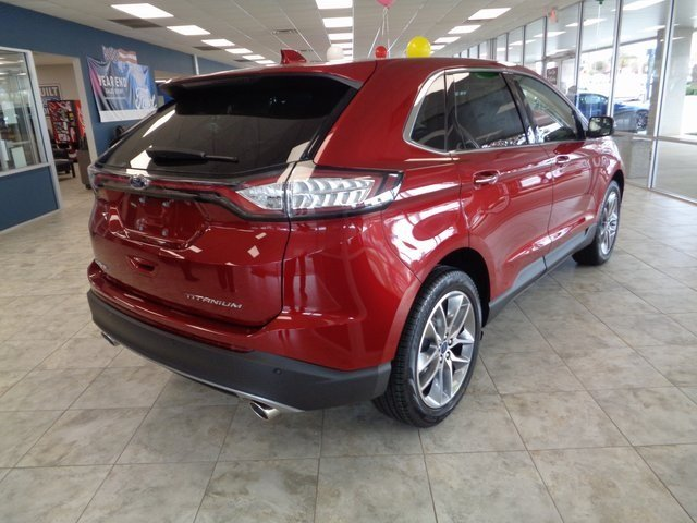 2018 Ford Edge Titanium 4 Door FWD 3.5L V6 Ti-VCT Engine SUV