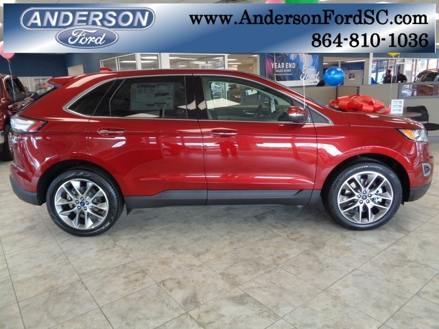 2018 Ford Edge Titanium FWD 3.5L V6 Ti-VCT Engine Automatic