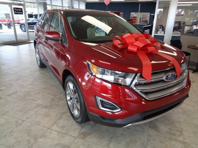 2018 Ford Edge Titanium FWD 4 Door SUV Automatic