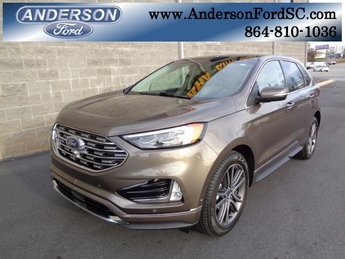 2019 Ford Edge Titanium 2.0L Engine FWD 4 Door