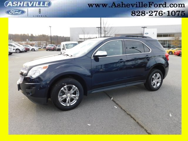 2015 Blue Velvet Metallic Chevy Equinox LT 1LT Automatic AWD 2.4L 4-Cylinder SIDI DOHC VVT Engine SUV 4 Door