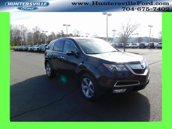 2013 Crystal Black Pearl Acura MDX Technology Automatic AWD 4 Door