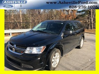 2014 Pitch Black Clearcoat Dodge Journey AVP 2.4L I4 DOHC 16V Dual VVT Engine SUV FWD Automatic