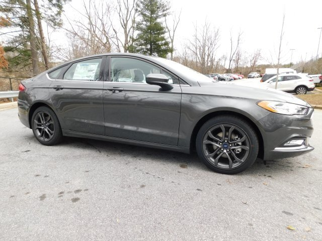 2018 Magnetic Metallic Ford Fusion S 4 Door FWD Automatic Sedan I4 Engine
