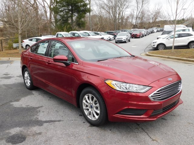 2018 Ford Fusion S I4 Engine Sedan 4 Door FWD