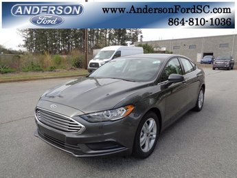 2018 Magnetic Metallic Ford Fusion SE Sedan FWD Automatic 4 Door I4 Engine