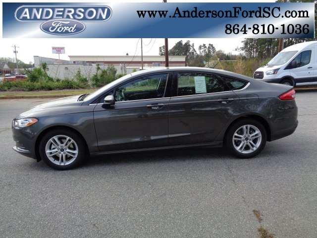 2018 Ford Fusion SE I4 Engine Sedan FWD