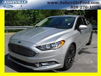 2018 Ingot Silver Metallic Ford Fusion SE Automatic Sedan 4 Door EcoBoost 1.5L I4 GTDi DOHC Turbocharged VCT Engine FWD