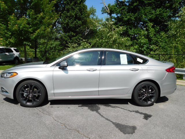 2018 Ford Fusion SE EcoBoost 1.5L I4 GTDi DOHC Turbocharged VCT Engine Sedan FWD