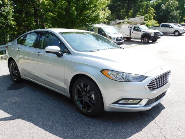 2018 Ford Fusion SE EcoBoost 1.5L I4 GTDi DOHC Turbocharged VCT Engine FWD Automatic 4 Door