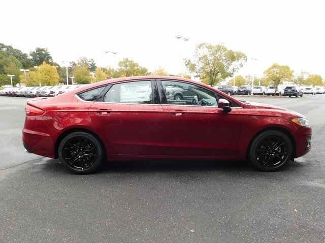 2019 Ford Fusion SE Automatic EcoBoost 1.5L I4 GTDi DOHC Turbocharged VCT Engine Sedan
