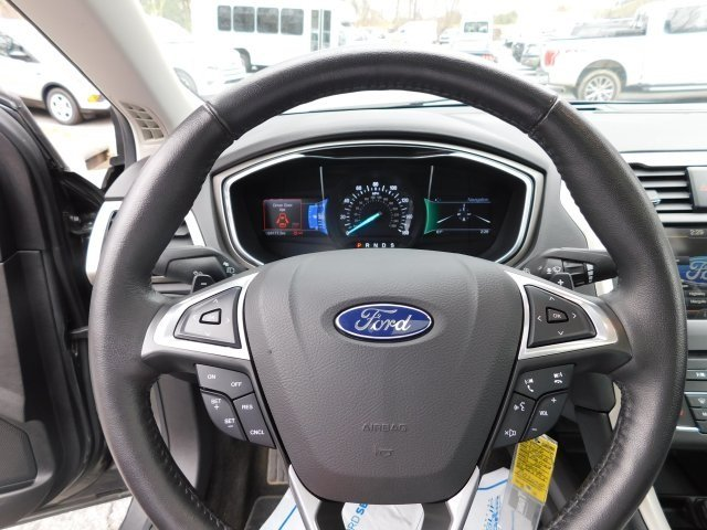 2016 Magnetic Ford Fusion SE EcoBoost 2.0L I4 GTDi DOHC Turbocharged VCT Engine Sedan AWD 4 Door Automatic