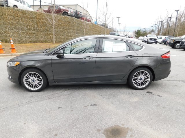 2016 Magnetic Ford Fusion SE 4 Door AWD Sedan EcoBoost 2.0L I4 GTDi DOHC Turbocharged VCT Engine Automatic