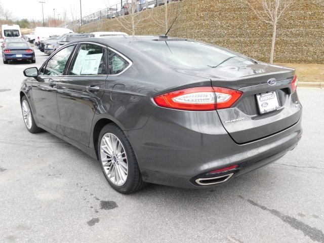2016 Magnetic Ford Fusion SE AWD Automatic EcoBoost 2.0L I4 GTDi DOHC Turbocharged VCT Engine Sedan