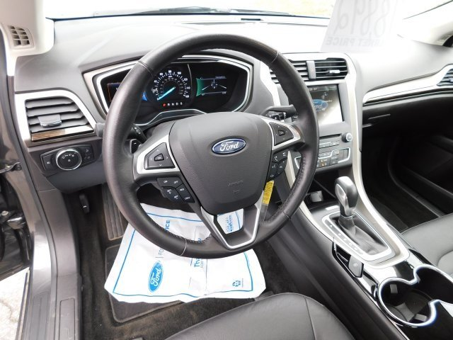 2016 Magnetic Ford Fusion SE EcoBoost 2.0L I4 GTDi DOHC Turbocharged VCT Engine AWD Sedan