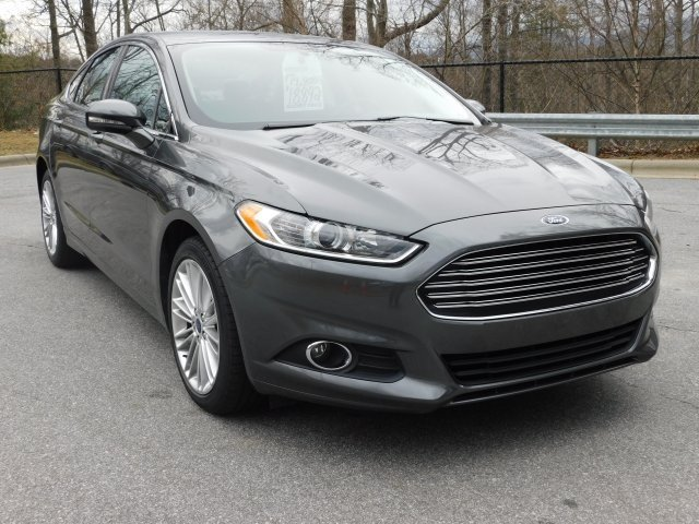 2016 Magnetic Ford Fusion SE Sedan AWD EcoBoost 2.0L I4 GTDi DOHC Turbocharged VCT Engine
