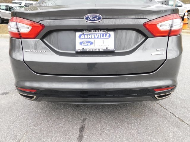 2016 Magnetic Ford Fusion SE Sedan EcoBoost 2.0L I4 GTDi DOHC Turbocharged VCT Engine Automatic AWD
