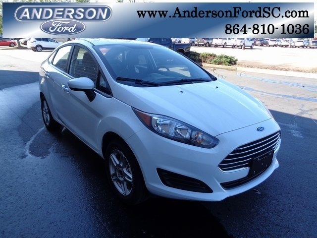 2018 Oxford White Ford Fiesta SE Automatic Sedan 1.6L I4 Ti-VCT Engine 4 Door FWD