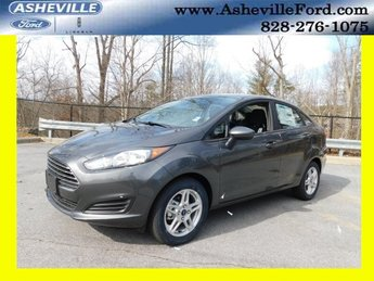 2018 Magnetic Metallic Ford Fiesta SE Sedan Automatic FWD