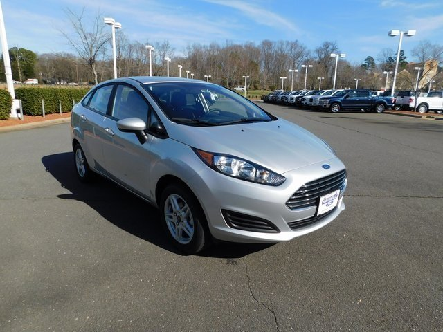 2019 Ford Fiesta SE 1.6L I4 Ti-VCT Engine 4 Door Sedan FWD