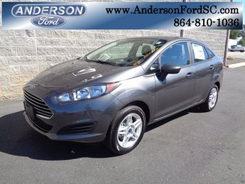 2018 Magnetic Metallic Ford Fiesta SE 1.6L I4 Ti-VCT Engine Automatic Sedan FWD