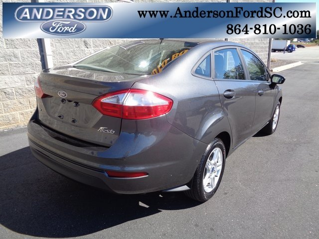 2018 Ford Fiesta SE Sedan 4 Door 1.6L I4 Ti-VCT Engine