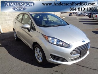 2019 Ingot Silver Metallic Ford Fiesta SE Automatic 4 Door 1.6L I4 Ti-VCT Engine FWD Sedan