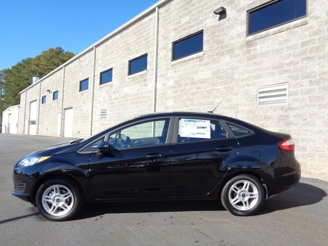 2019 Shadow Black Ford Fiesta SE 4 Door FWD Automatic